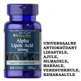 ALFA-LIPOEHAPE (ALA) - UNIVERSAALNE ANTIOKSÜDANT 60 KAPSLIT