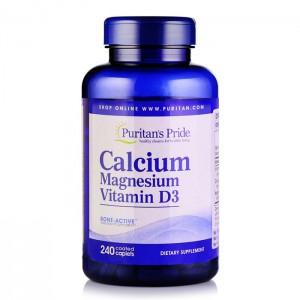 KALTSIUM + MAGNEESIUM + D3 - HEA KOOSLUS SINU ORGANISMILE 120 tabletti.
