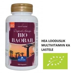 BAOBAB EHK AHVILEIVAPUU - (ÖKO) MAHETOODE LOODUSLIK MULTIVITAMIIN