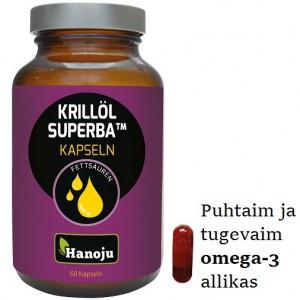 KRILLÕLI KAPSLID – puhtaim ja tugevaim omega-3 allikas