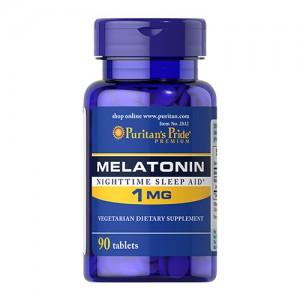 MELATONIIN – SÜGAV JA RAHULIK UNI LOODUSLIKULT 90 tabletti.