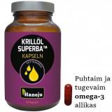 KRILLÕLI SUPERBA KAPSLID – puhtaim ja tugevaim omega-3 allikas