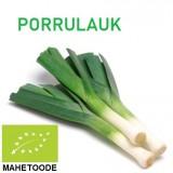 PORRULAUK (ÖKO) MAHETOODE - TÄHTIS TERVISELE. Hind al. 2,88 €